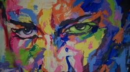 Abstract Portrait at a Puerto Vallarta art gallery