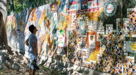 Mosaic from locals & travelers