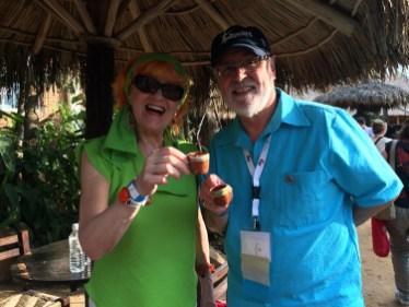 Oxana Sawka and Peter Johansen from Ottawa
