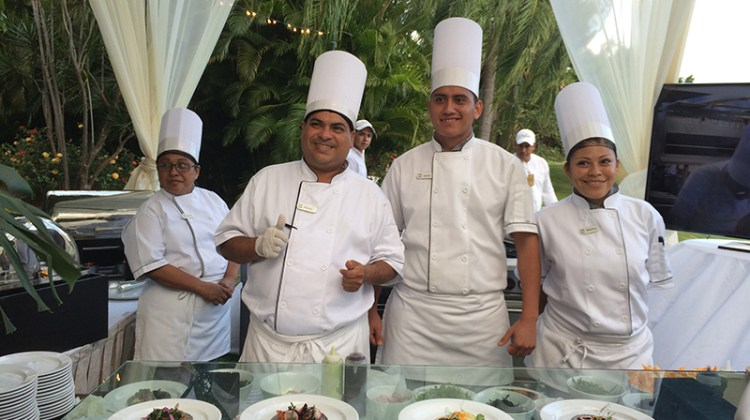 Exceptional crew at Casa Velas