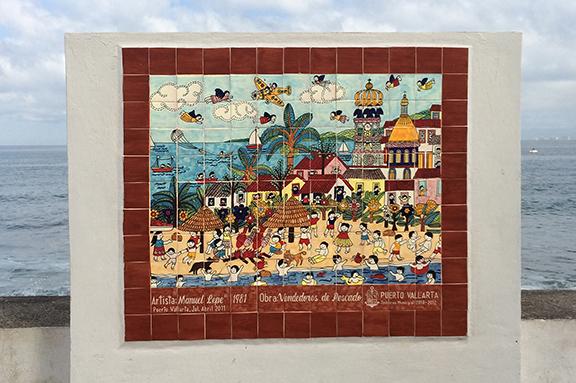 Puerto Vallarta is colorful!