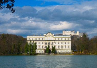 Salzburg Schloss Leopoldskron and Festung