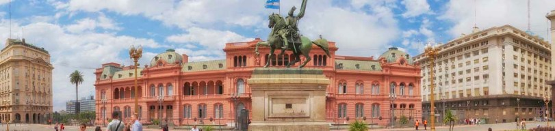 Casa Rosada, the Presidential Palace in Buenos Aires