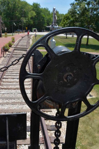 Boonville Train Tracks - from Caboose