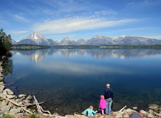 Grand Teton Jackson Lake