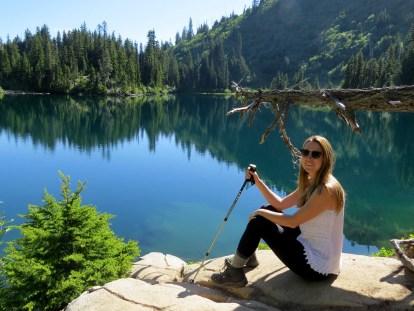 Mt. Rainer Snow Lake