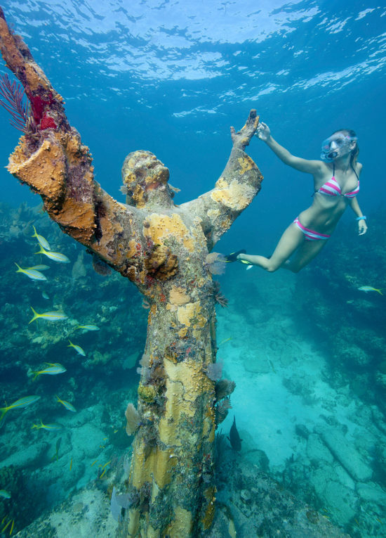 Christ of the Abyss Florida Keys