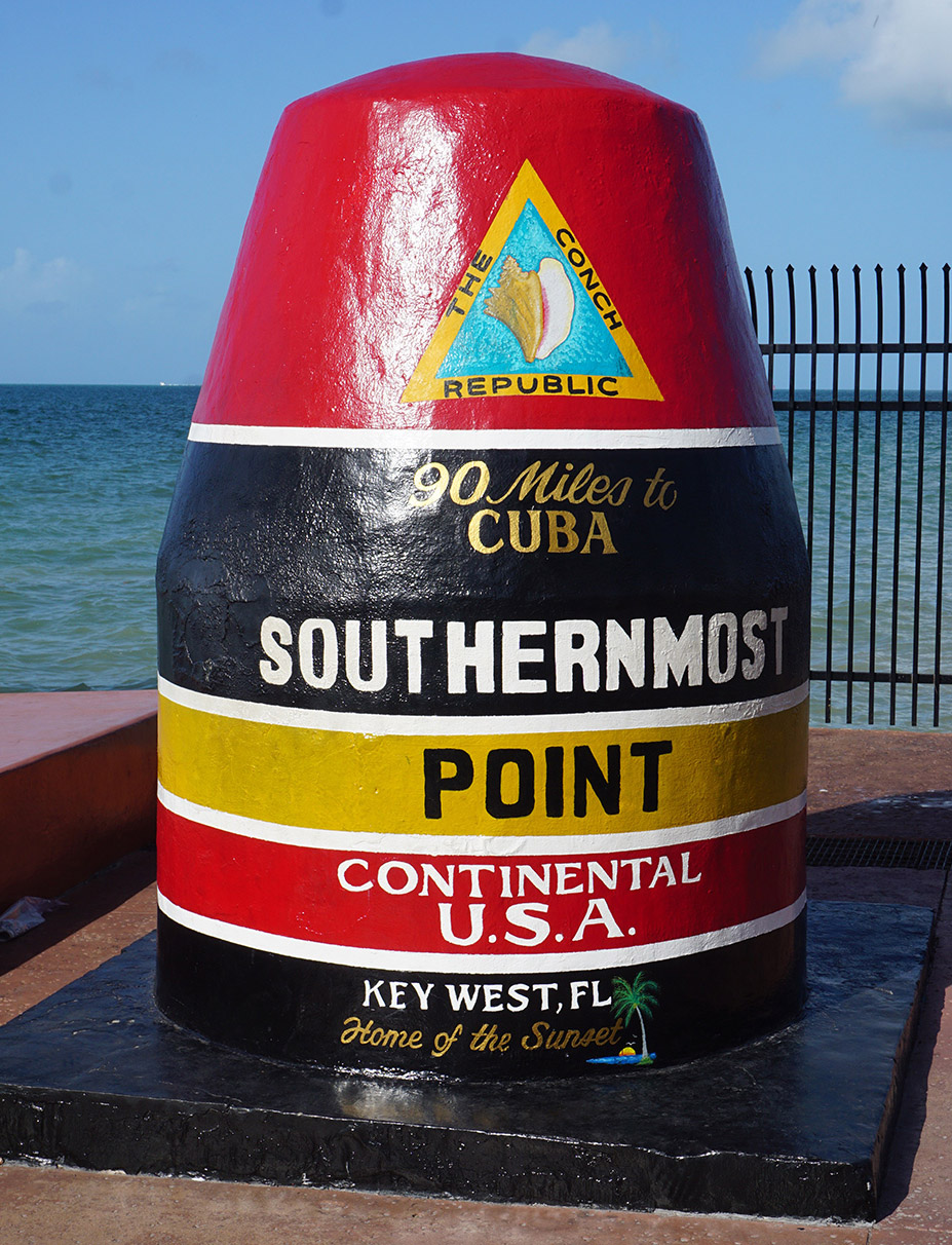Key West Southern Marker