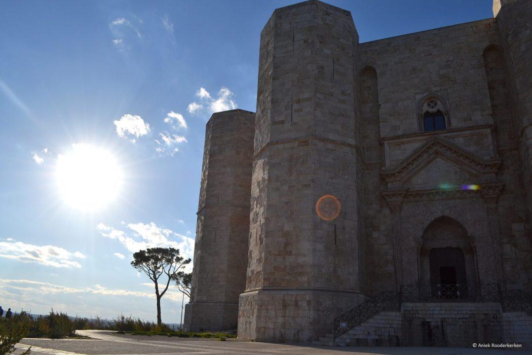 Het achthoekige kasteel Castel del Monte