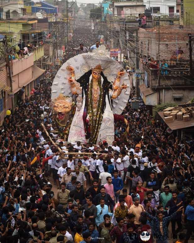 Durgapuja in Kolkata