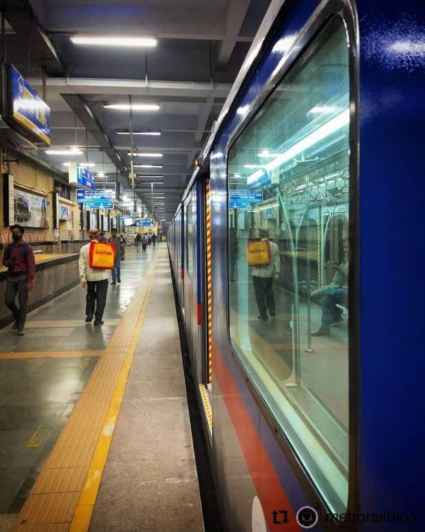 Metro in Kolkata