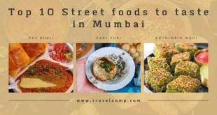 Street food to taste in Mumbai