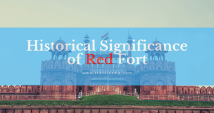 Historical Significance of Red Fort