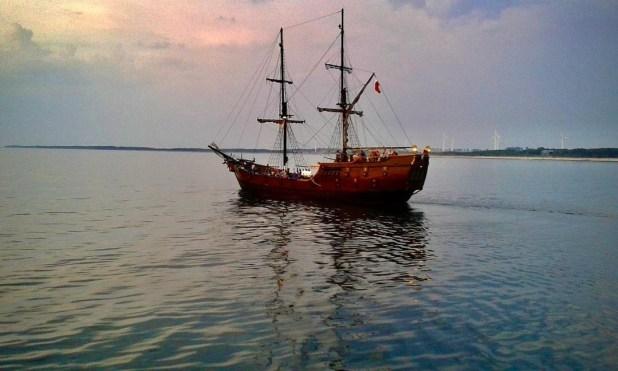 Ship in Lakshadweep