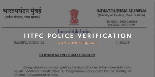 IITFC Police Verification