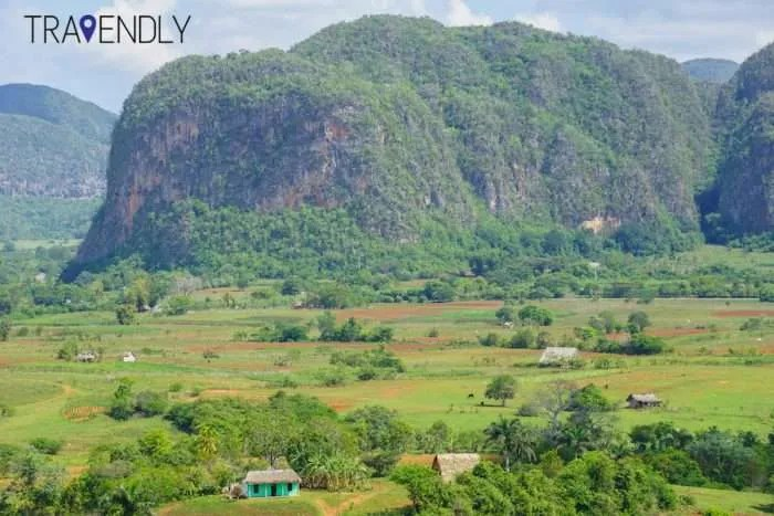 Beautiful Mogotes mountains of the Vinales Valley