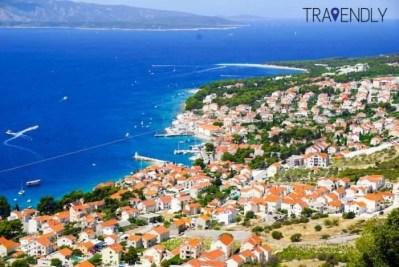 Beautiful town of Bol, Croatia