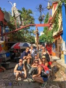 The wonderful colors of Cajellon de Hammel in Havana