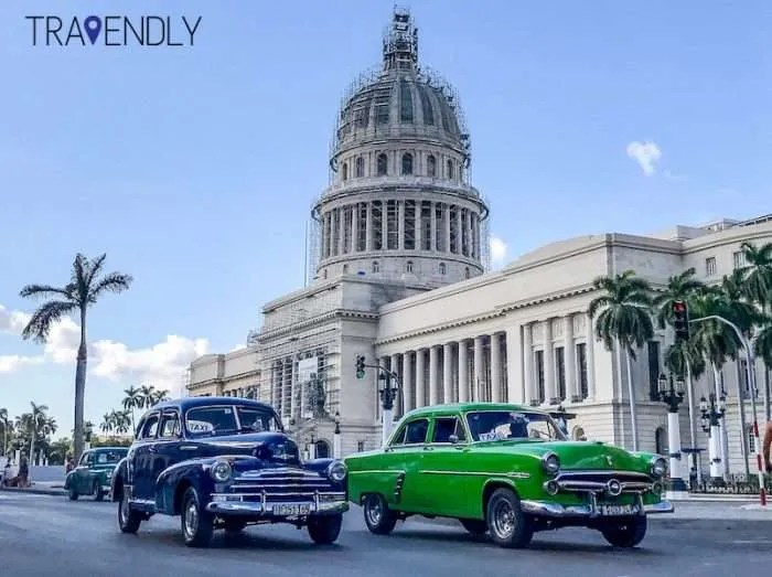 Capitol Building in Havana Cuba
