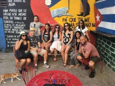 Kicking back in Central Havana Cuba