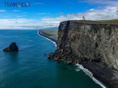 Lighthouse of Dyrholaey, Iceland