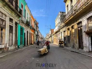 Daily commute in Havana Cuba