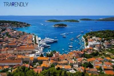 Hvar Croatia city views