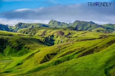 Summer in Iceland is green