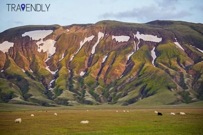 Highland mountains in Iceland