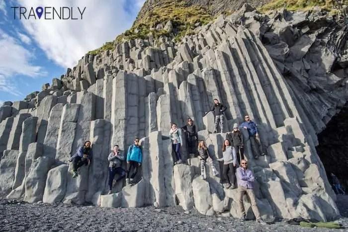 Reynisfjara black sand beach in southern Iceland