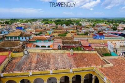 Colonial rooftops of Trinidad Cuba