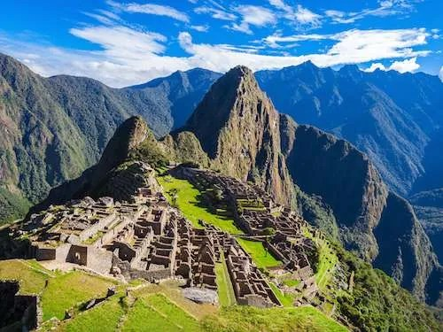 Machu Picchu Complex Peru
