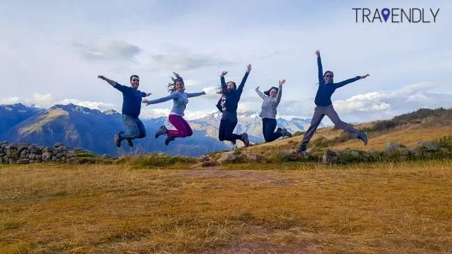 When in the Sacred Valley we do jump shots