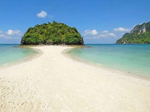 Miracle beach on Ko Poda