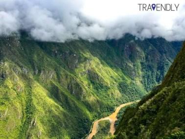 Views from the Machu Picchu complex