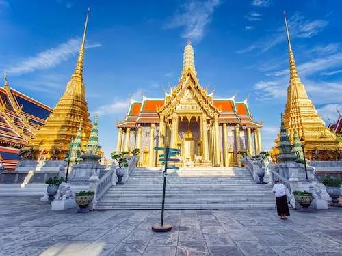 Wat Phra Kaew Temple of the Emerald Buddha Bangkok Thailand