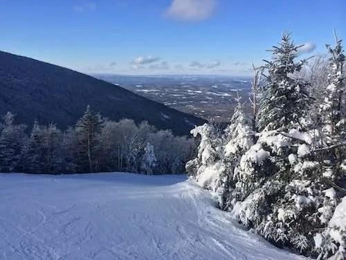 Vermont weekend skip trip