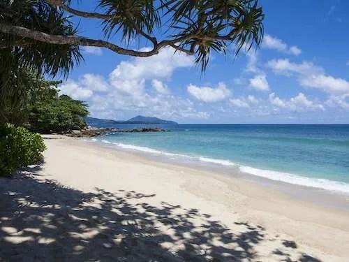 Kho Phangan island beach Thailand