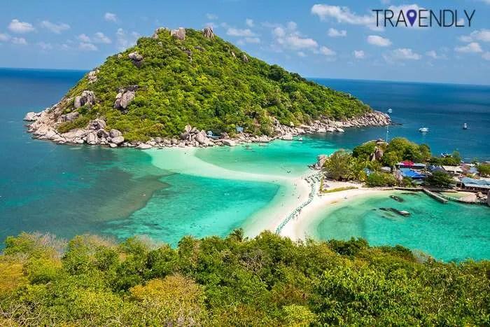viewpoint Koh Tao island Thailand group tour