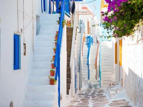 Mykonos Town Greece group travel