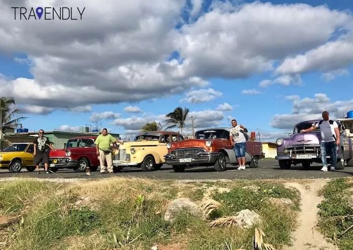 Classic cars on our Cuba group tour