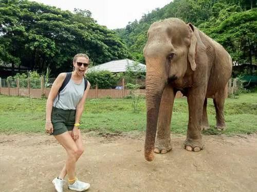 Chiang Mai Elephant Nature Park prue joy