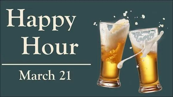 happy hour march 21 2019