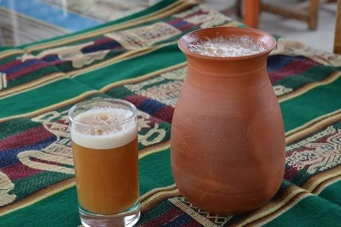 Chicha de Jora traditional Peruvian drink