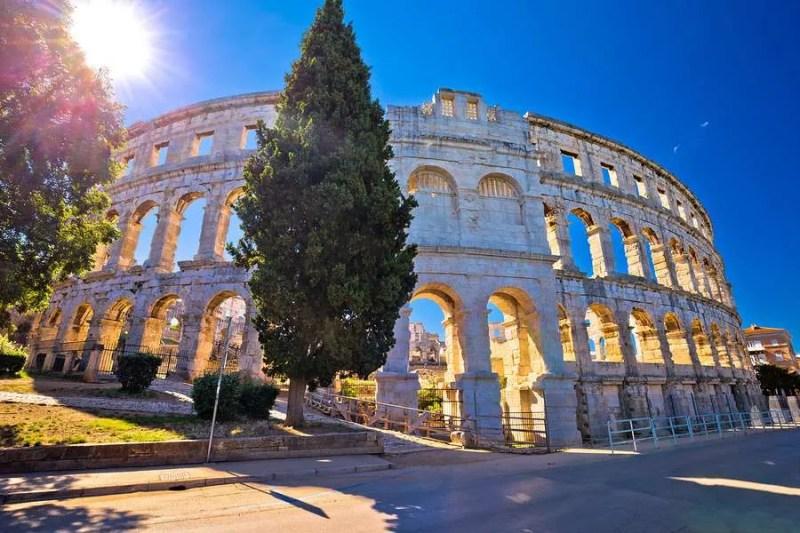 Arena Pula Amphitheater Croatia