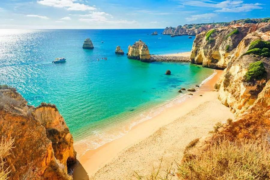 Ponta da piedade beach Lagos Portugal