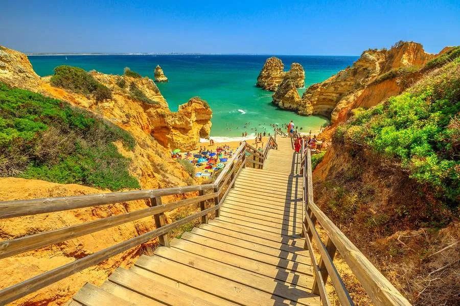 Praia do Camilo Algarve Lagos Portugal