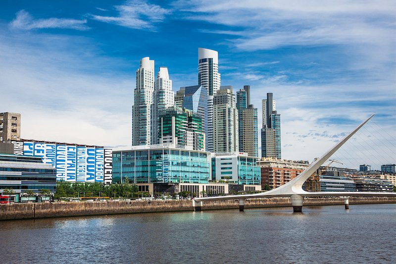 Buenos Aires Puerto Madero day