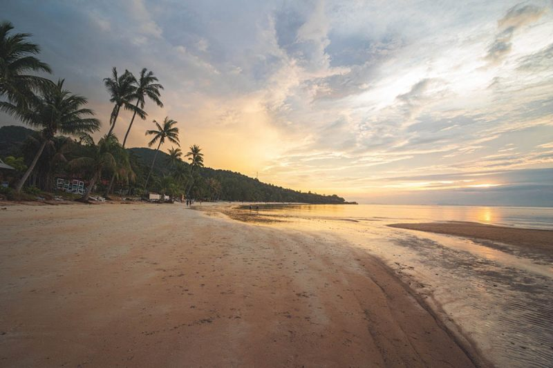 Haad Yoa Beach in Koh Phangan Island Thailand