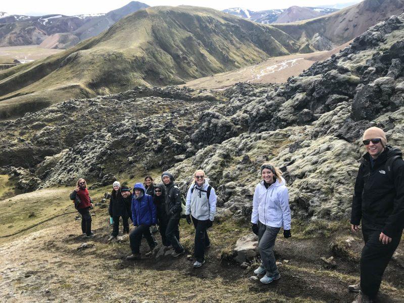 Landmannalaugar lava field hike